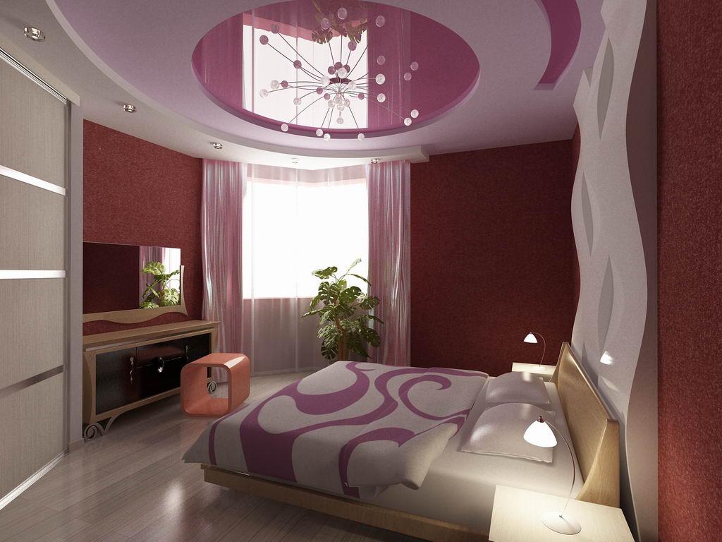 недолго дизайн натяжного потолка в спальне фото кто тут